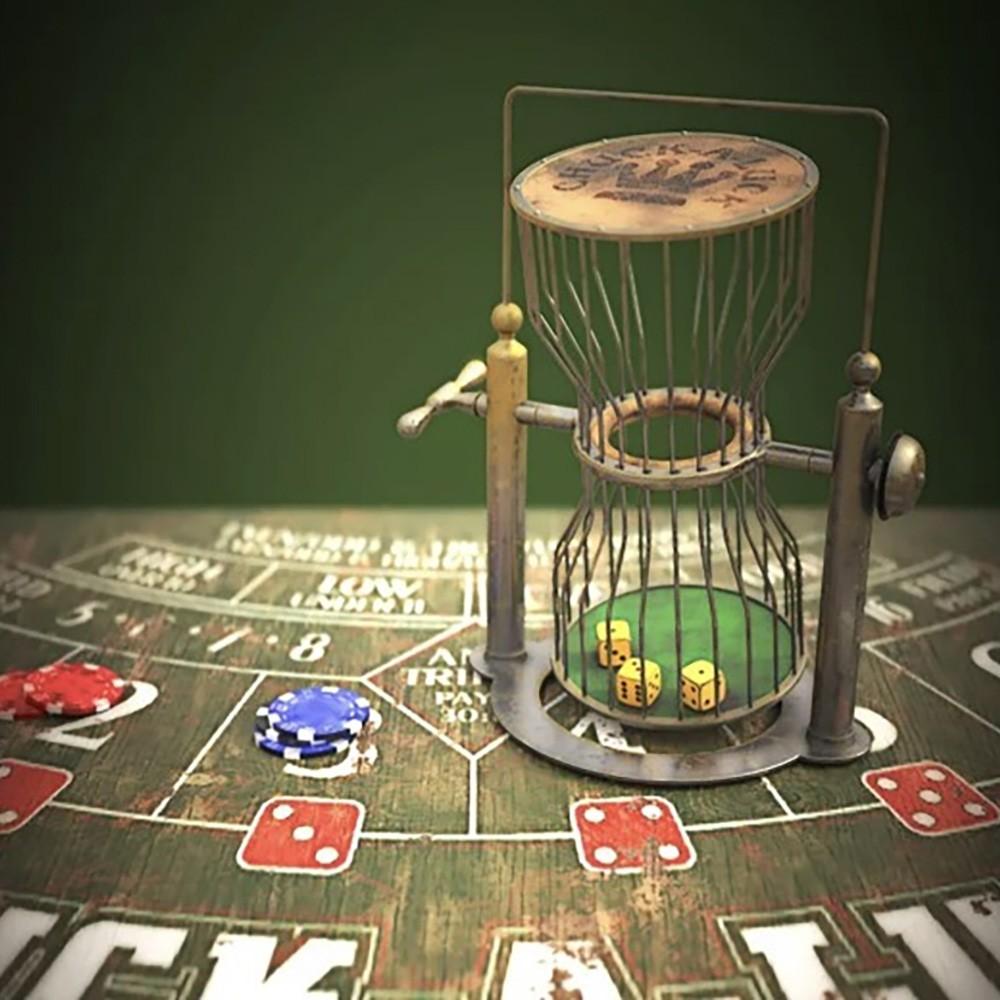 Игра в кости Green Dice в аренду для вечеринки в стиле казино