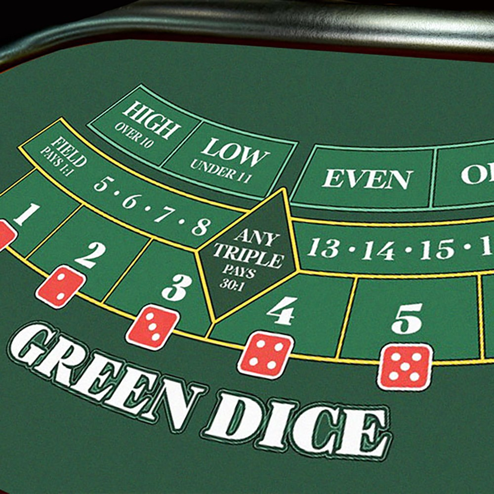 Казино игра Green Dice в аренду на мероприятие