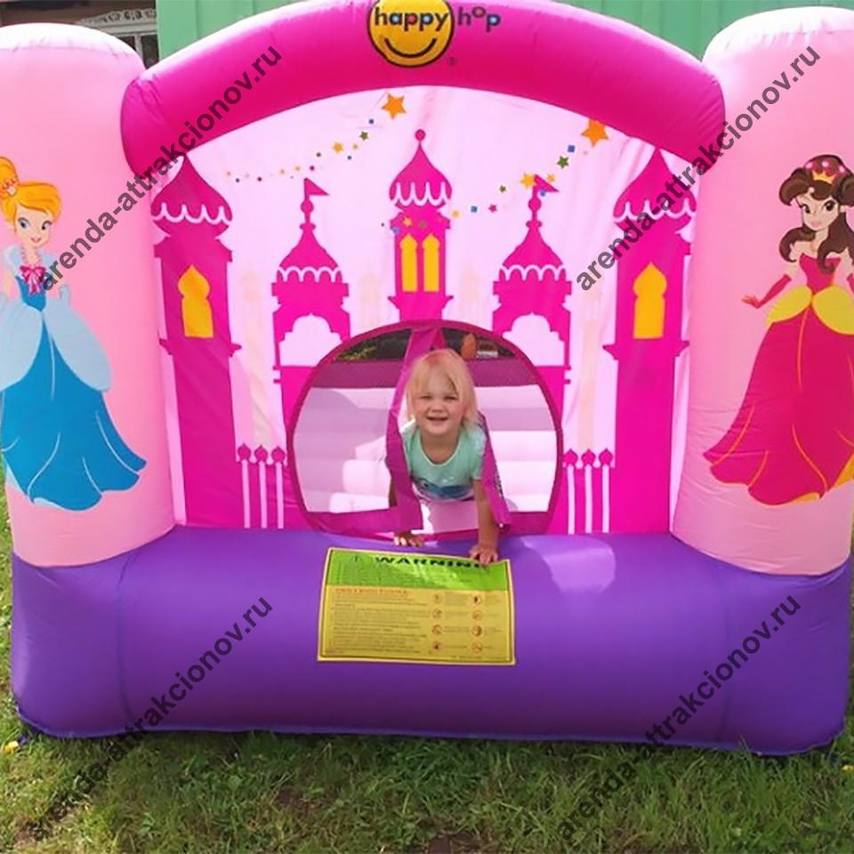 Детский надувной батут Принцесса в аренду
