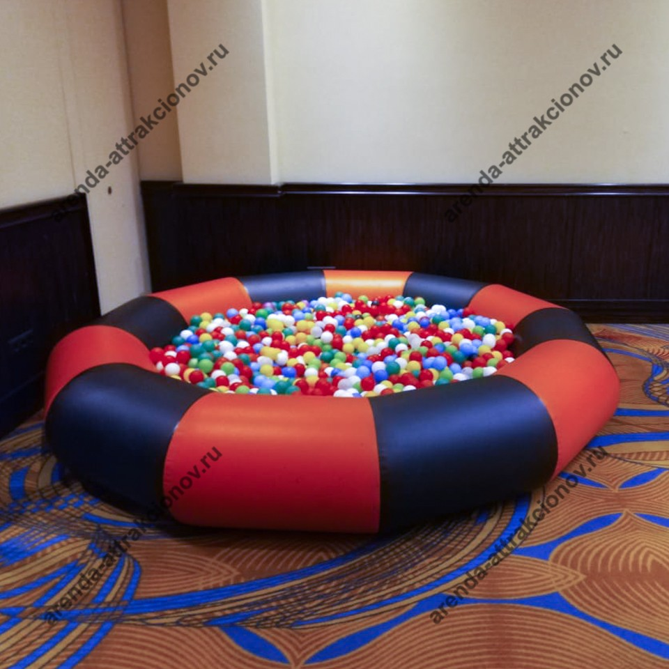 Детский бассейн с шариками в аренду