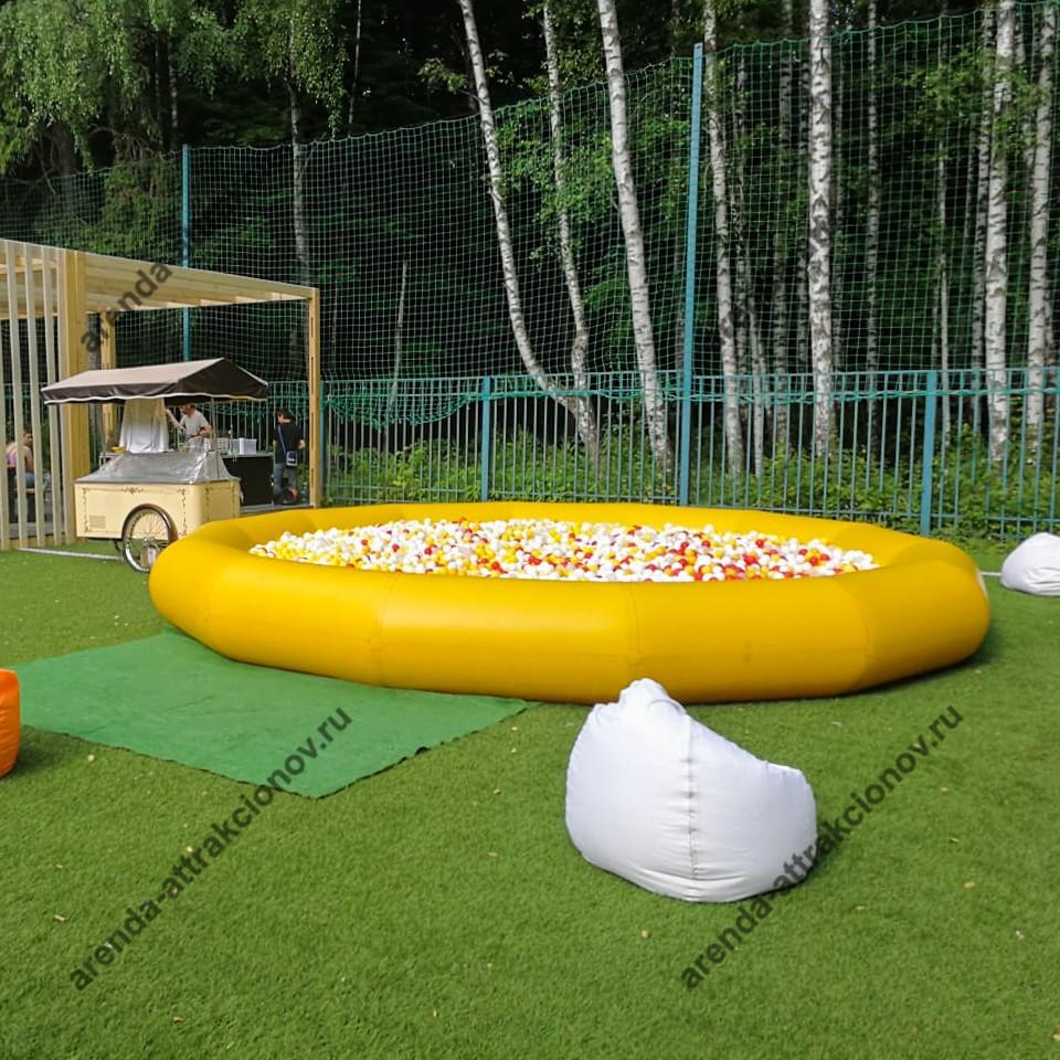 Сухой бассейн в аренду в Москве