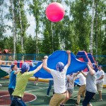 Аренда аттракциона Волейбол Командный на корпоративные состязания
