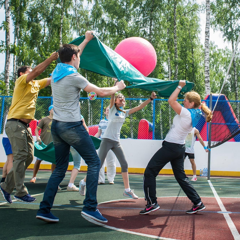 Командный волейбол для тимбилдинга