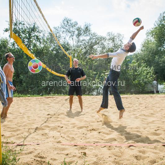 Аренда оборудования для игры в волейбол