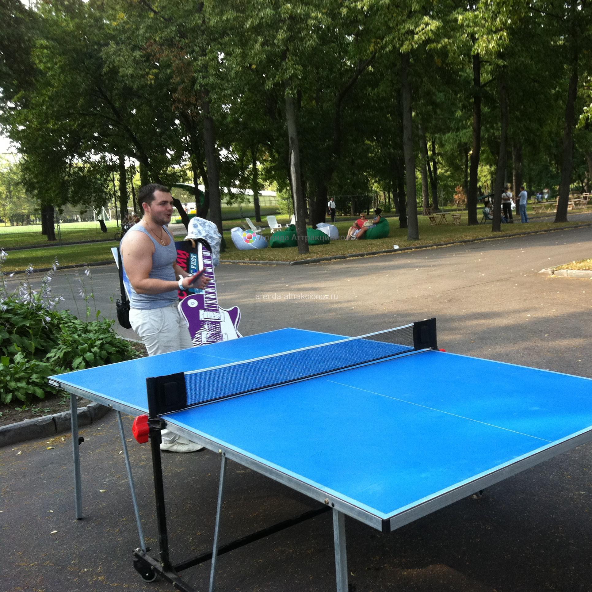 Стол для игры в пинг-понг в аренду на мероприятие