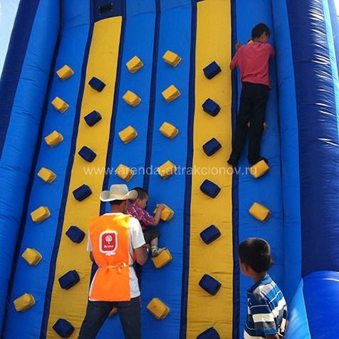 Скалодром 6 метров на мероприятие