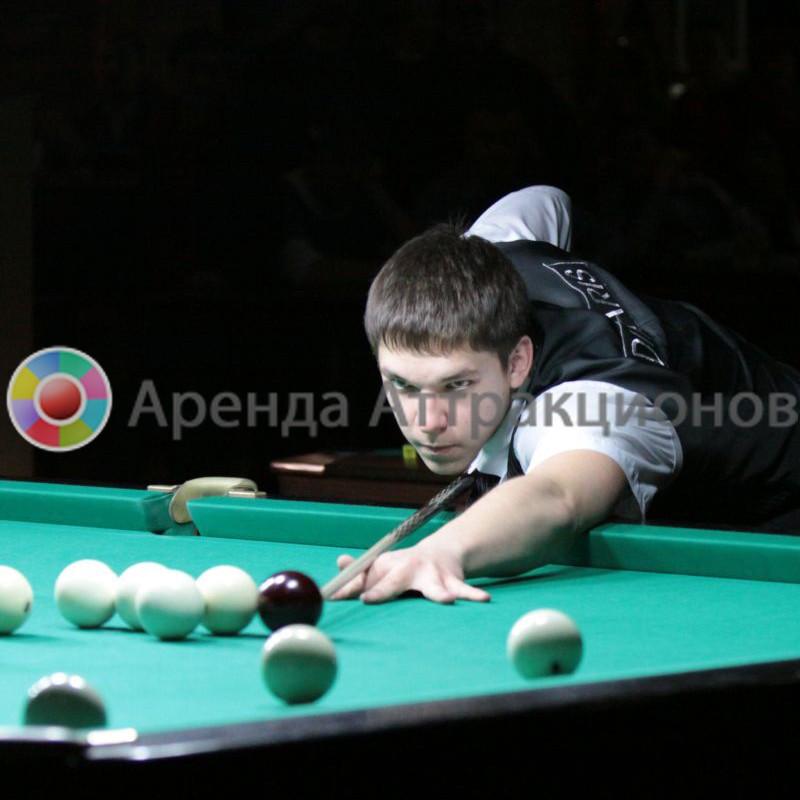 Бильярдный стол для игры в Русский бильярд в аренду