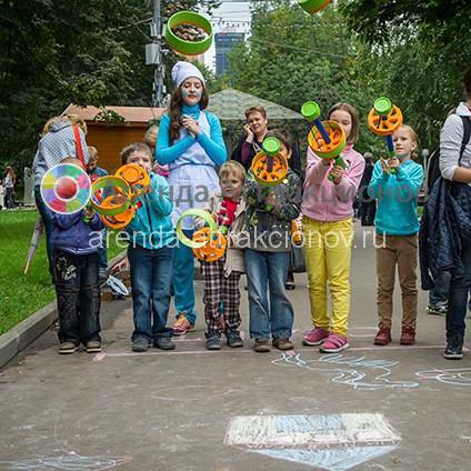 Заказать в аренду Тир Космо Кольцемет на детский праздник