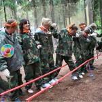 Командные шаги (Нога-в-ногу) задания для тимбилдинга
