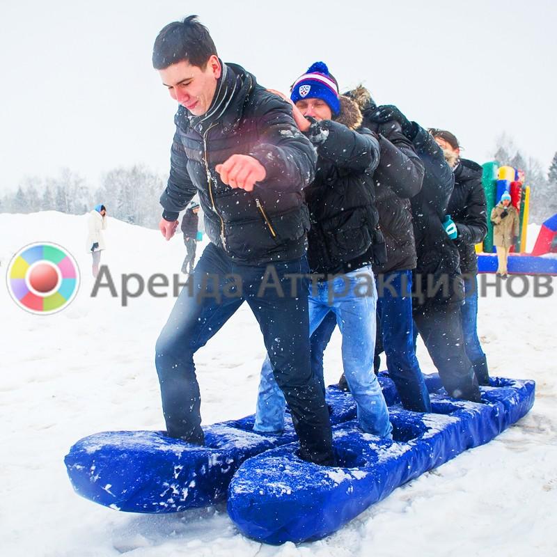Лыжи Командные в аренду на мероприятие