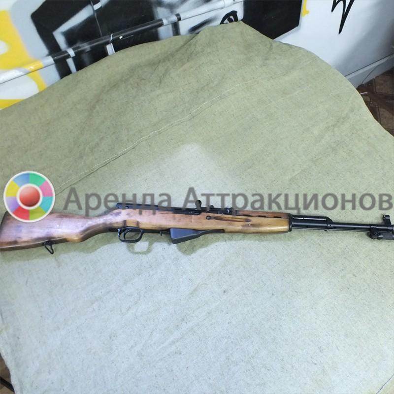 Самозарядный карабин Симонова или просто карабин СКС