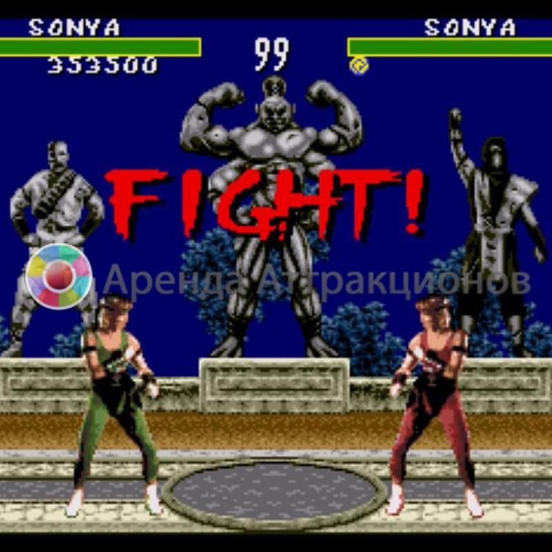 Приставка Sega на мероприятие