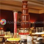 Шоколадный фонтан на выезд