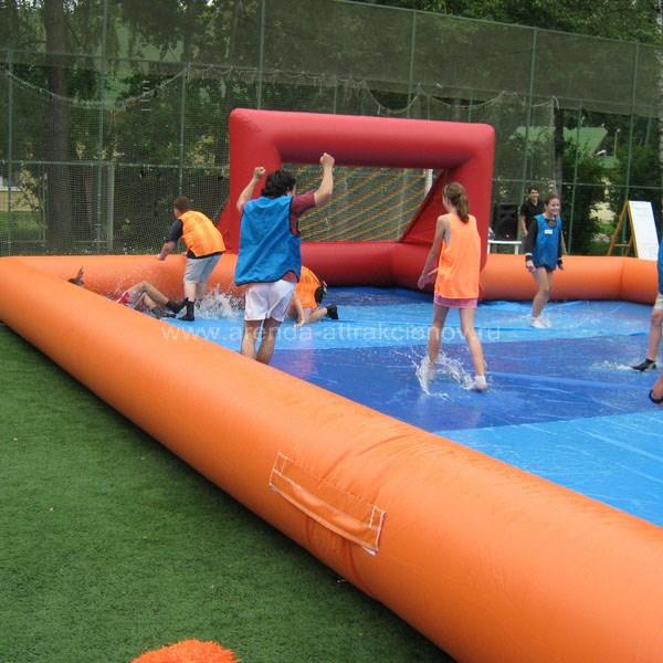 Аренда аттракциона Мокрый футбол на мероприятие