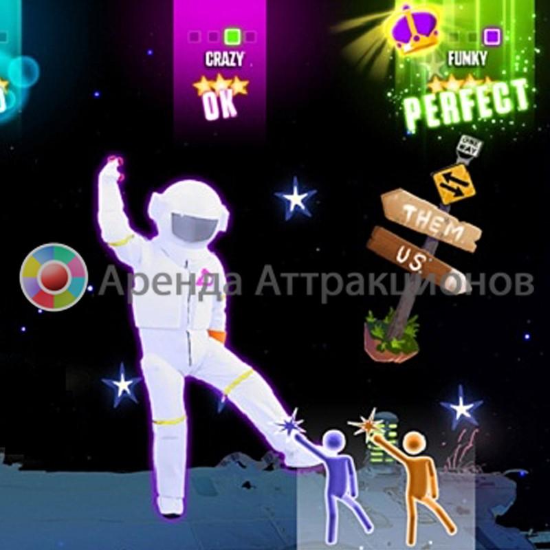 Аренда аттракциона Танцевальный симулятор