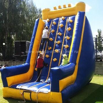 Аттракцион Скалодром 5 метров в аренду на соревнования