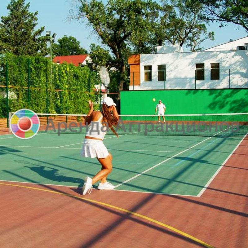 Аренда инвентаря для теннисной площадки