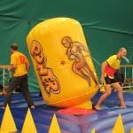 Соревновательный аттракцион Тяни — бросай в аренду на спортивный праздник