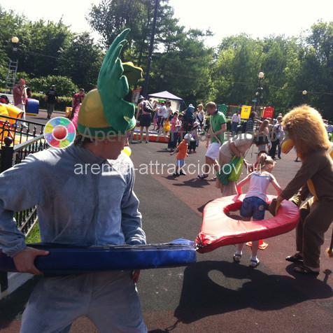 Аттракцион Волчата в аренду на детский праздник
