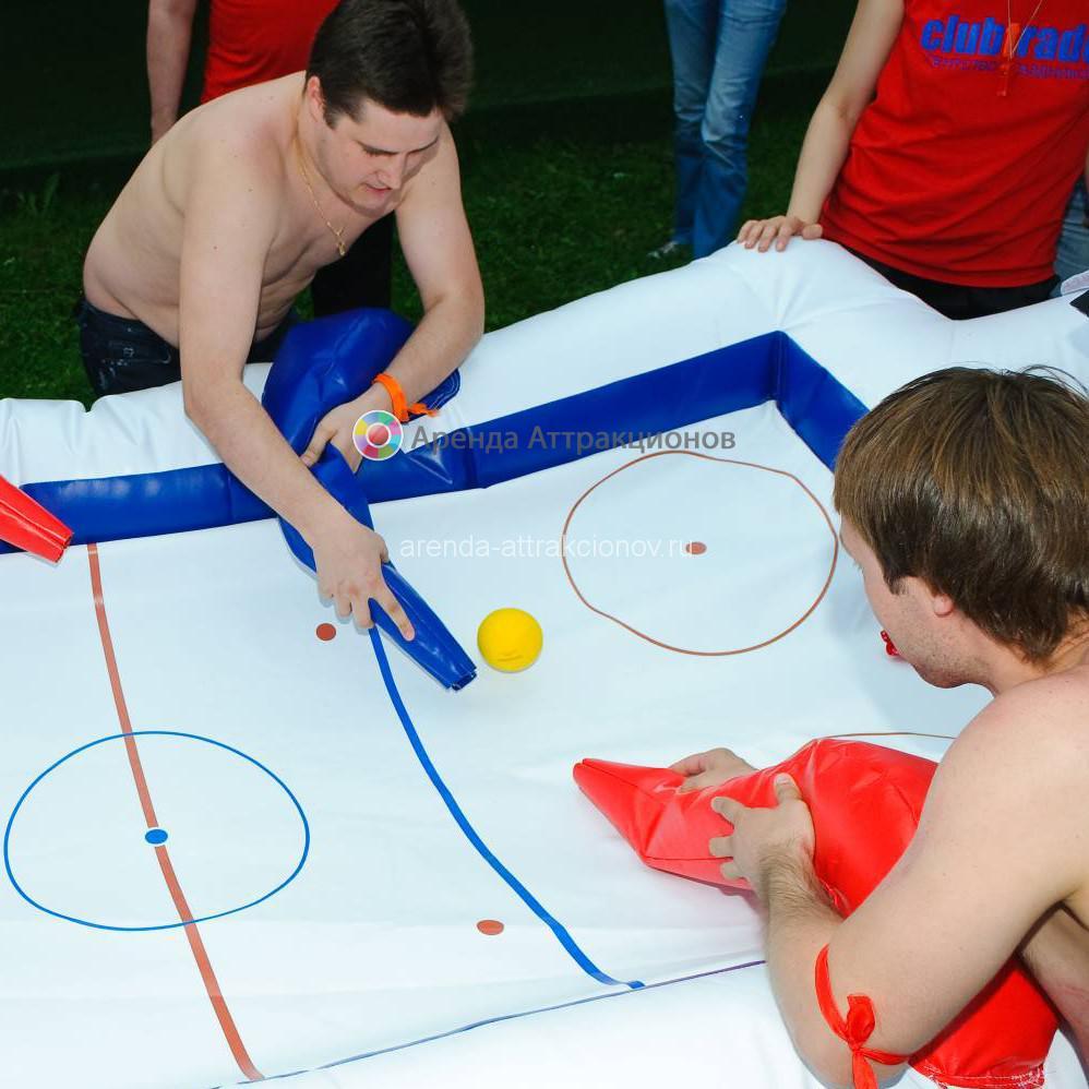 Аттракцион Воздушный хоккей в аренду