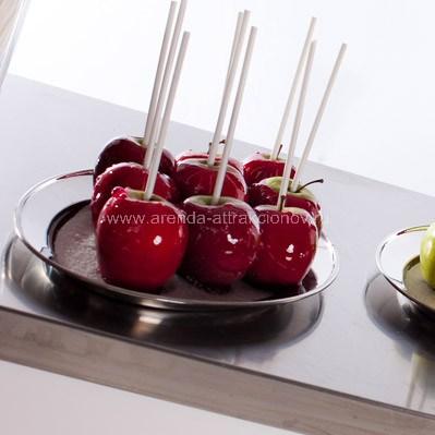 Яблоки в карамели для мероприятий