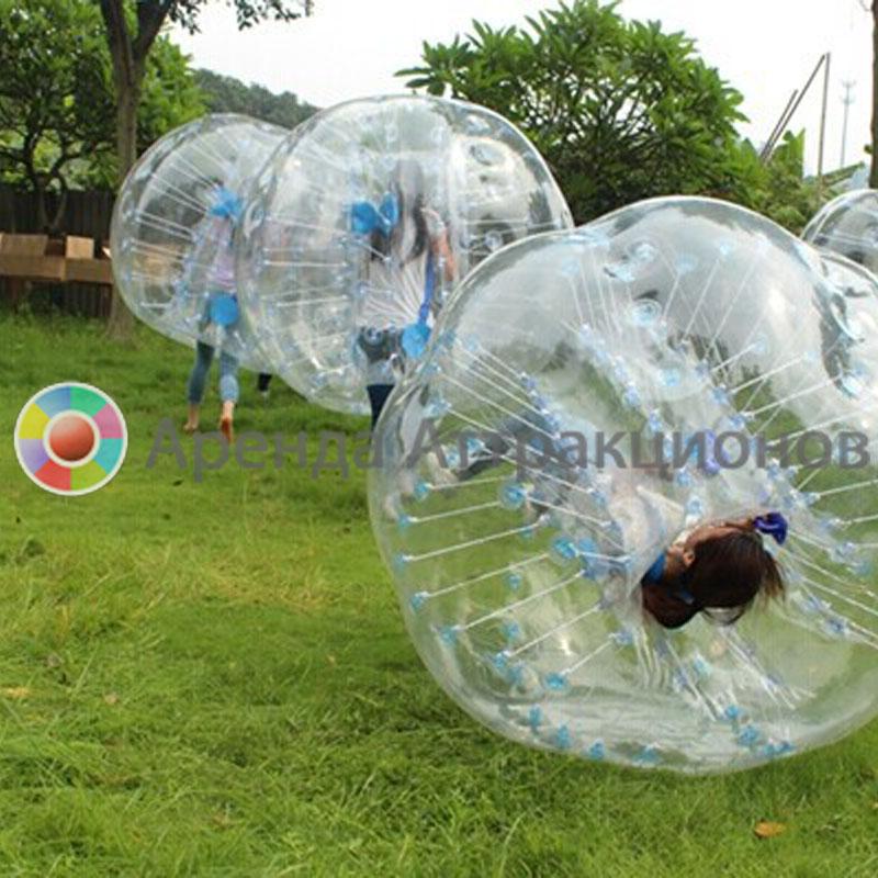 Бампербол на летнем мероприятии.