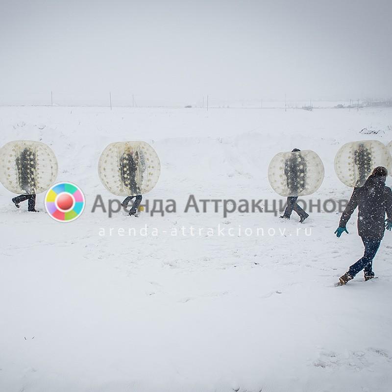 В бампербол можно без проблем играть при низких температурах.