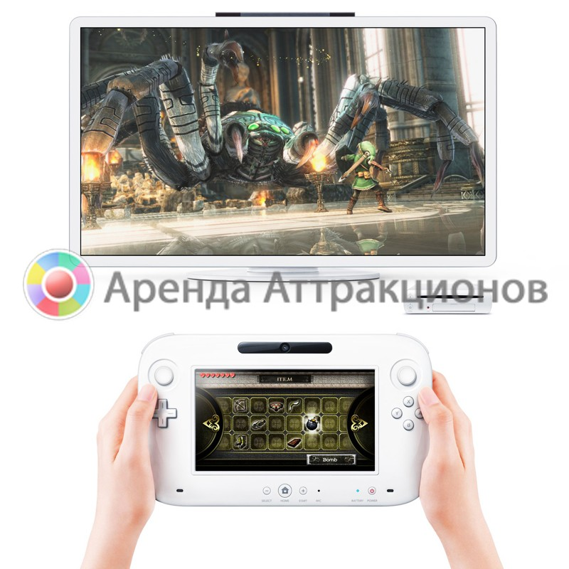 Игровая приставка Nintendo Wii U в аренду