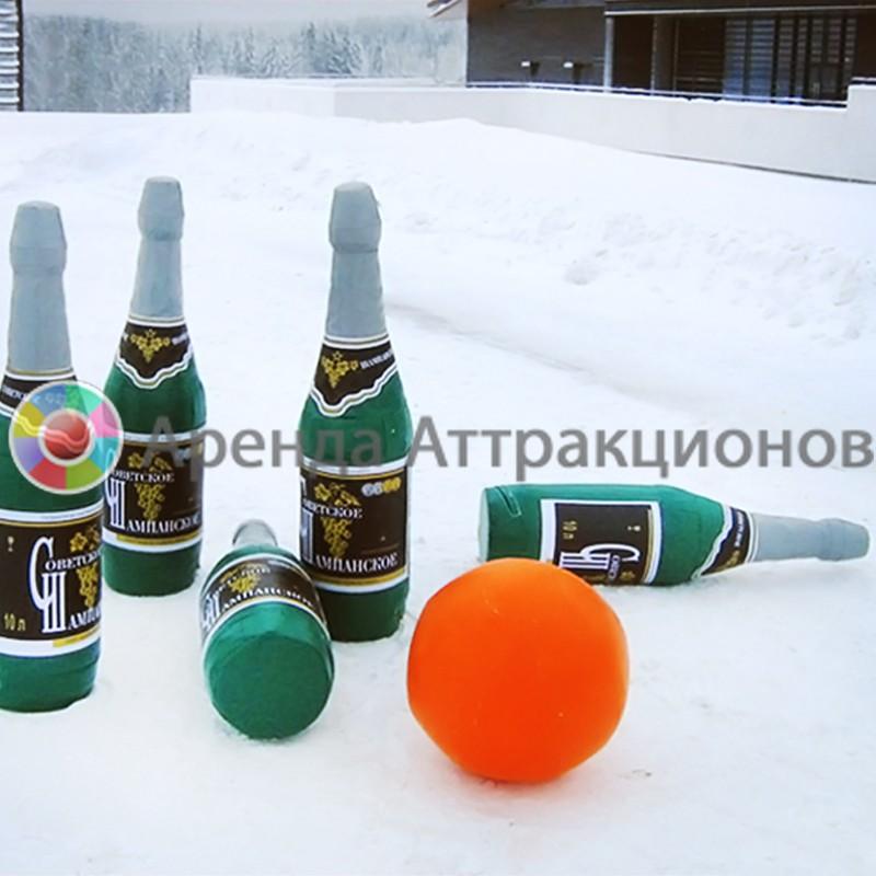 Боулинг по-Русски в аренду на Новый год
