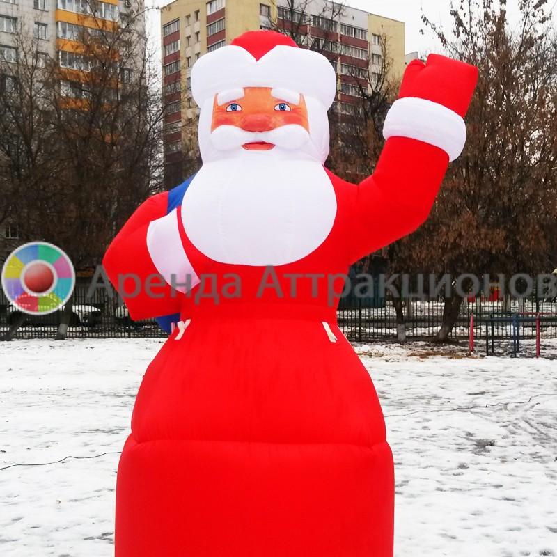 Надувная пневмофигуры Дед Морох на мероприятие