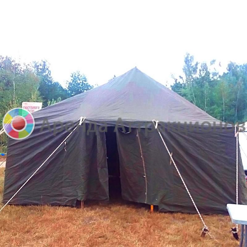 армейская палатка к полевой кухне