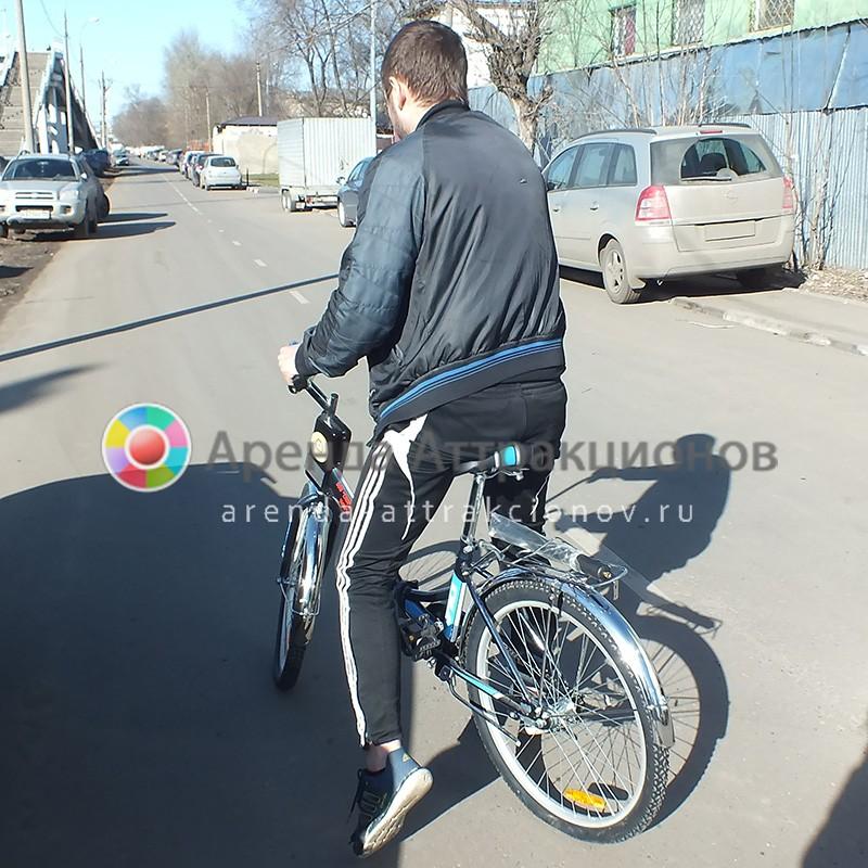 Аренда аттракциона Неправильный велосипед