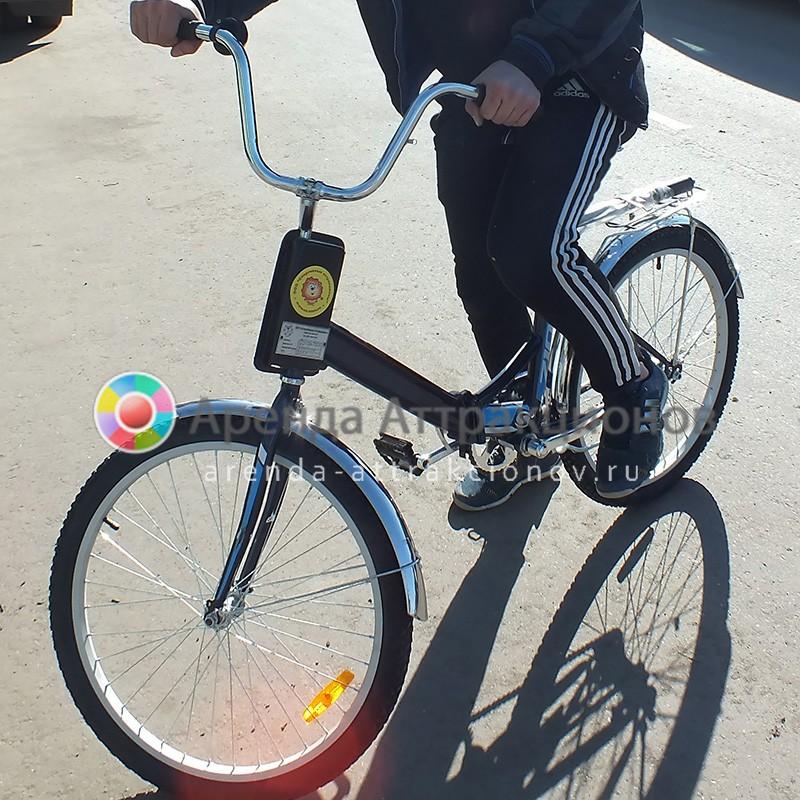 Управляемый велосипед аттракциона Большие гонки