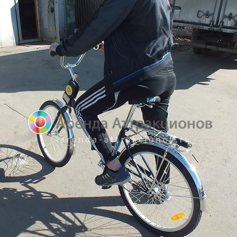 Аренда аттракциона Неправильный велосипед на мероприятие