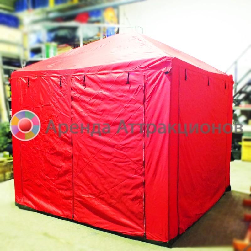 Однотонная палатка аренда