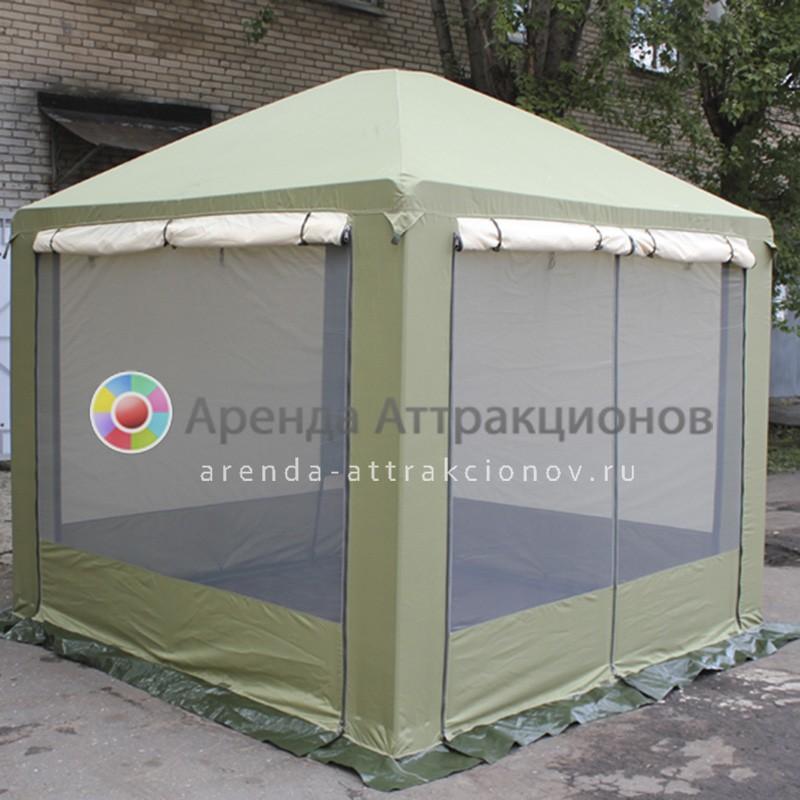 Однотонная палатка на мероприятие