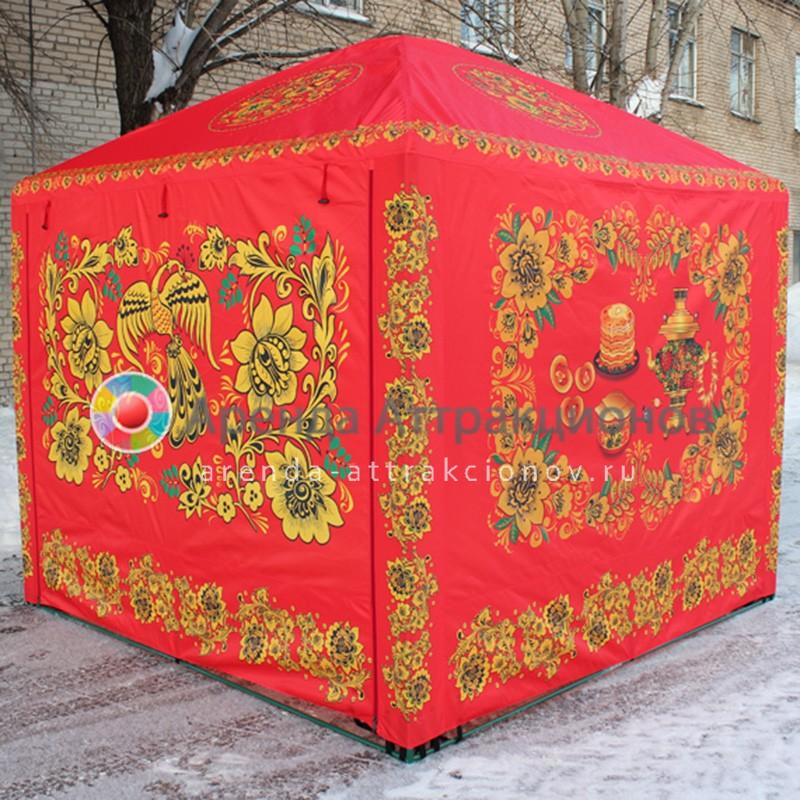 Расписная палатка на мероприятие