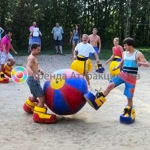 Аренда аттракциона Футбол «Ботобол»