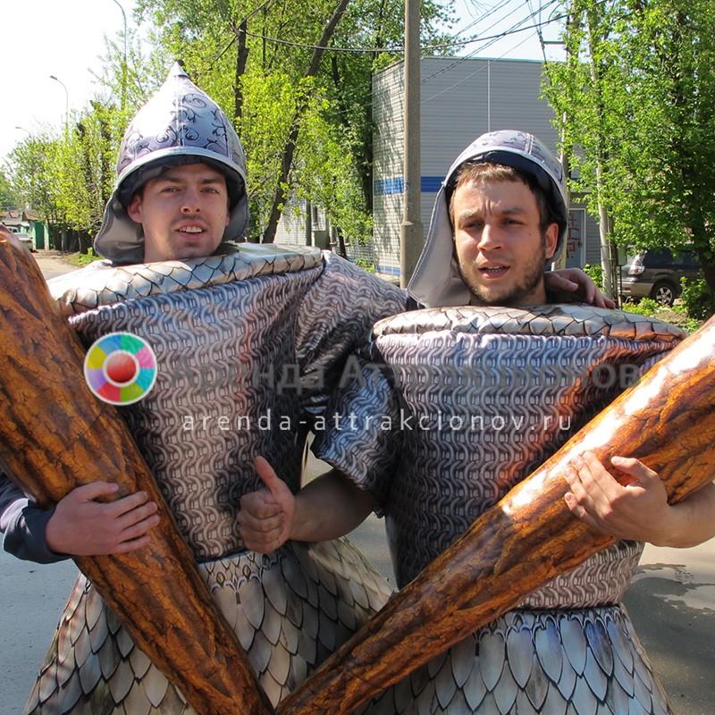 Аренда костюмов Русских витязей