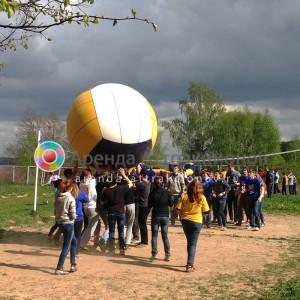 Аттракцион Волейбол с гигантским мячом прокат