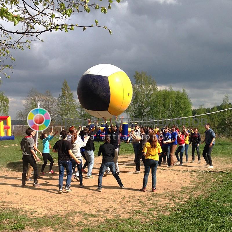 Аренда аттракциона Волейбол гигантски на мероприятие