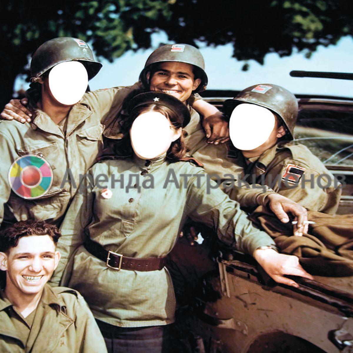3 лица армейских тантамаресок