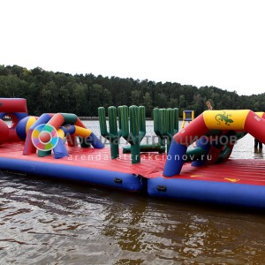 Водная Полоса препятствий на праздник прокат