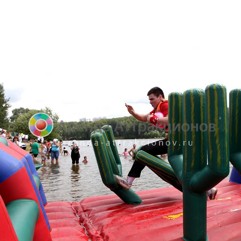 Водная полоса препятствий на праздник