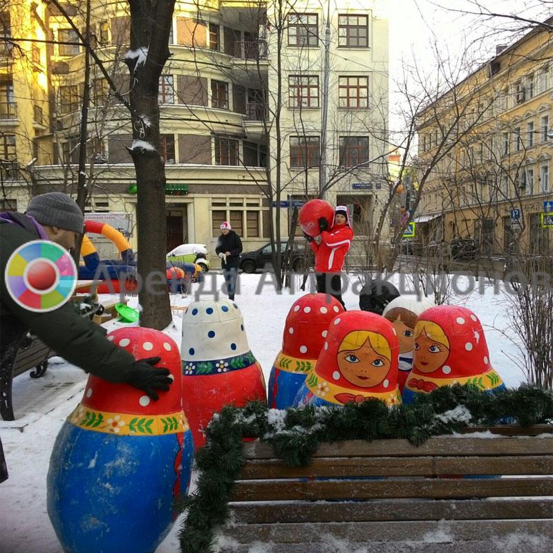 Боулинг Матрешки в Москве