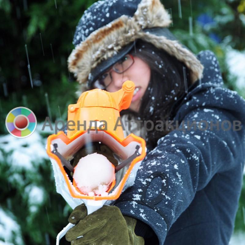 Снежный бластер в аренду на мероприятие