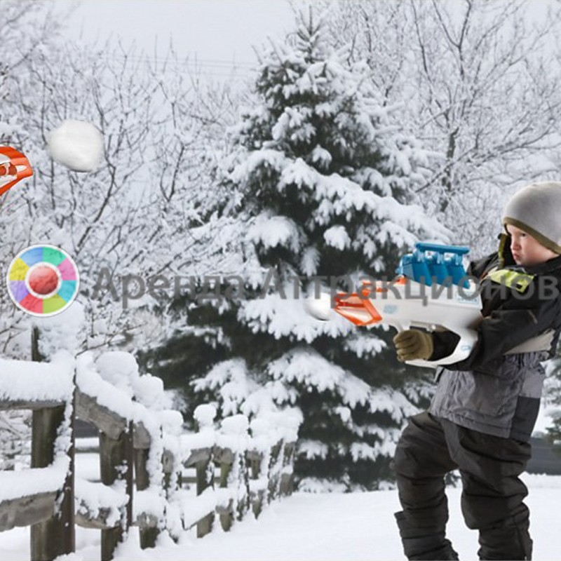 Снежная битва в аренду