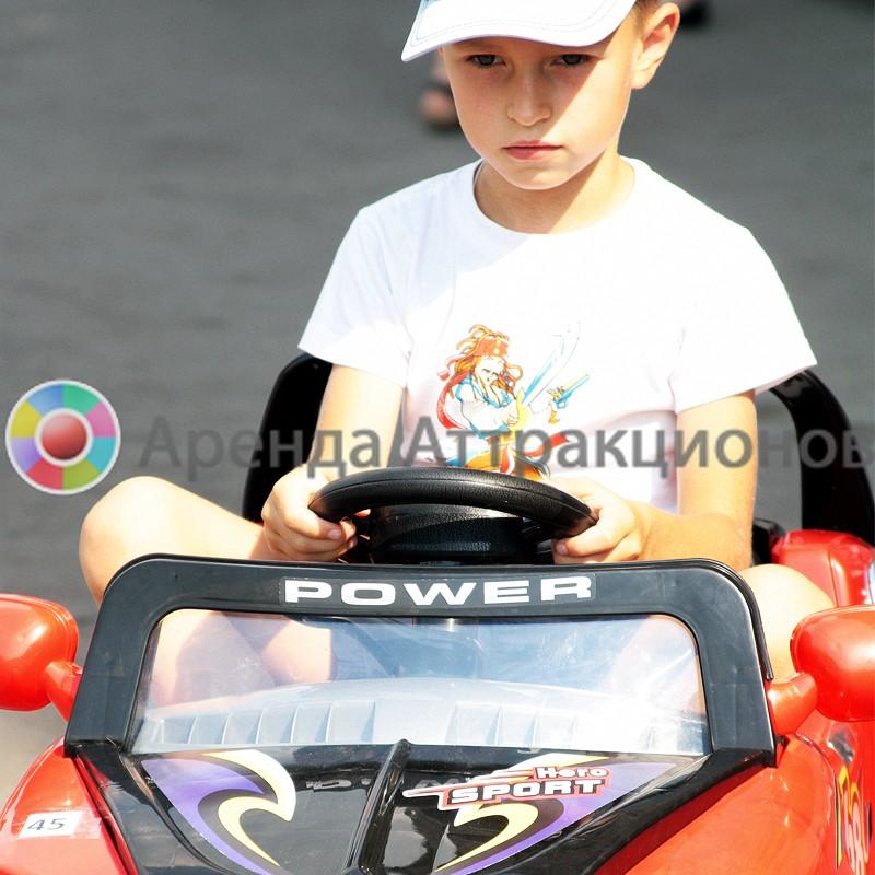 Аренда детского электромобиля