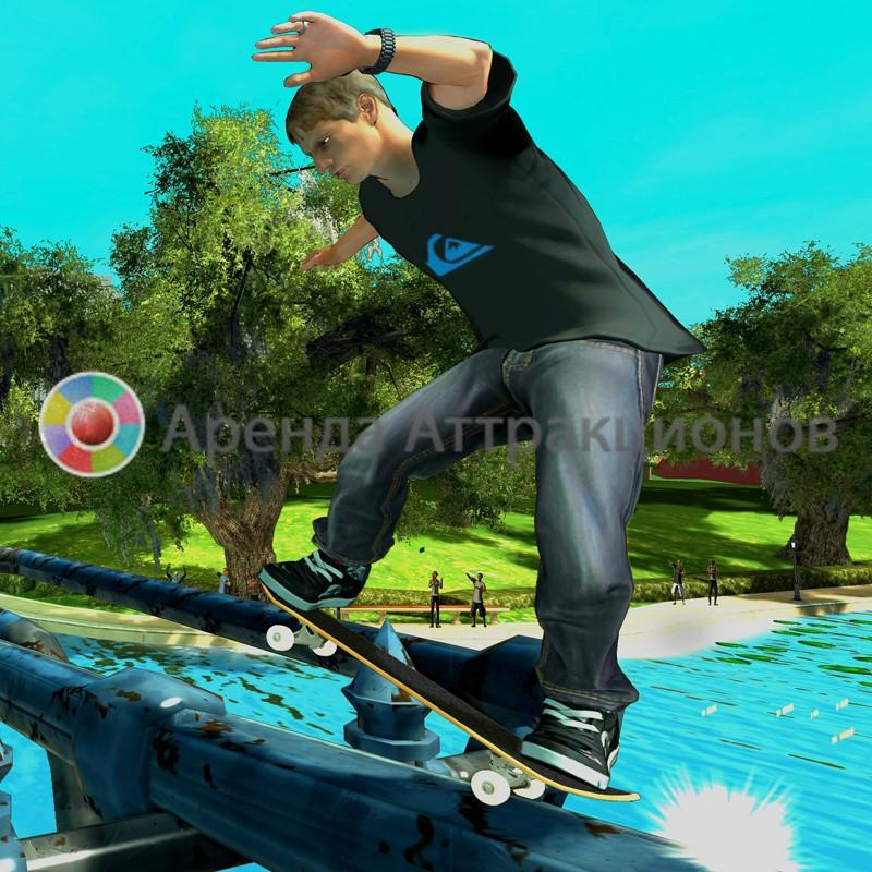 Симулятор скейтборда на день рождения