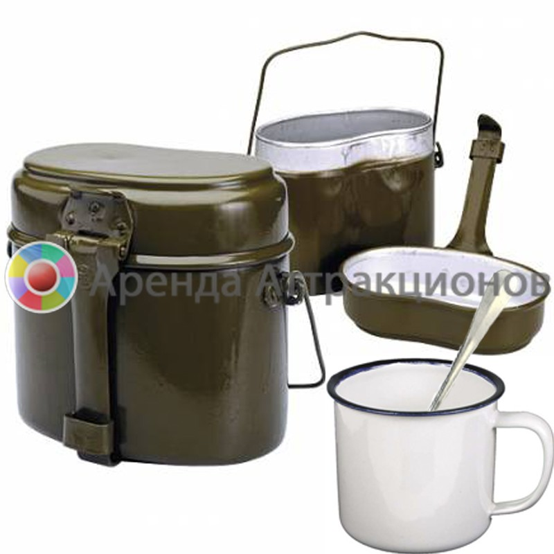 Армейская полевая посуда